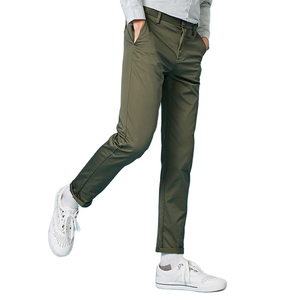 Image 4 - SEMIR 2019 Spring Winter New Casual Pants Men Cotton Slim Fit Chinos Fashion Trousers Male Brand Clothing Plus Size business