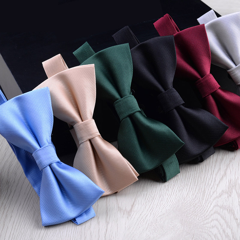 Men Bowtie Fashionable Butterfly Party Wedding Bow Tie Candy Color Business Party Bowknot Accessories Necktie