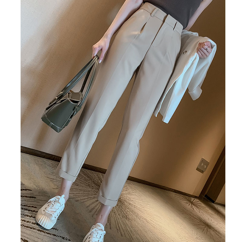 Elegant Work Trousers  Women Harem Pant Work Business Trousers Casual Female Pants  Mujer Spring