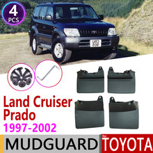 Garde-boue pour Toyota Land Cruiser Prado LC90 FZJ90 1997 ~ 2002, accessoires 1998 1999 2000