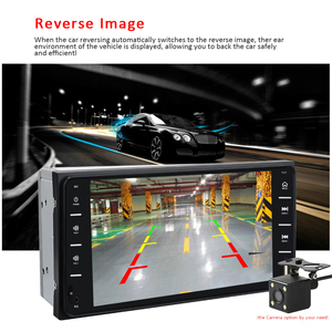 "Image 4 - Podofo autoradio 2 din 7 ""Android/IOS MirrorLink"