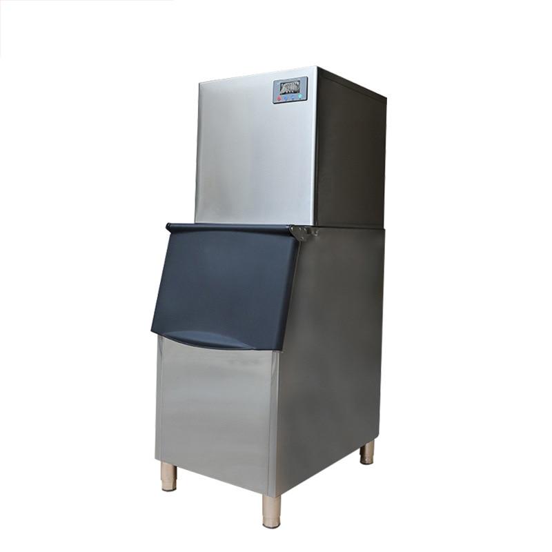200kg Commercial Ice Machine Large Tea Shop Hotel Automatic Large Capacity Ice Machine