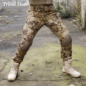 Image 5 - Military Cargo Pants Men Tactical Army SWAT Camo Pants Combat Paintball Camouflage Pants Uniforms Work Trousers Knee Pads