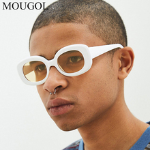 MOUGOL New Classic Clout Goggle Kurt Cobain Glasses Oval Ladies Sunglasses Vintage Retro Sun Womens UV400 Gafas De Sol