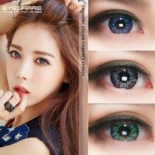 EYESHARE – lentilles de Contact colorées à l'herbe MilkShak, 1 paire, cosmétique, couleur des yeux