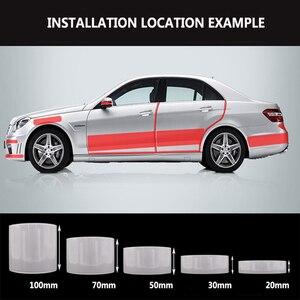 Image 5 - Защитная Автомобильная наклейка прокладка прозрачная пленка для корпуса Nano Velcro Автомобильная дверная кромка боковая защита от столкновений Автомобильная защита двери