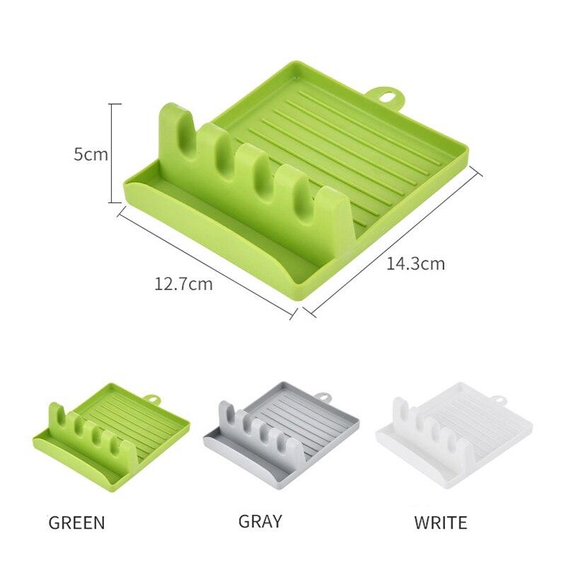 Heat-Resistant Drip Pad Utensil Rest