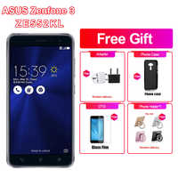 "Nuevo 3 de Asus Zenfone 3 ZE552KL 4G LTE teléfono móvil 5,5 ""4 GB RAM 64/128GB ROM Snapdragon625 Octa Core 1920x1080p teléfono Android"