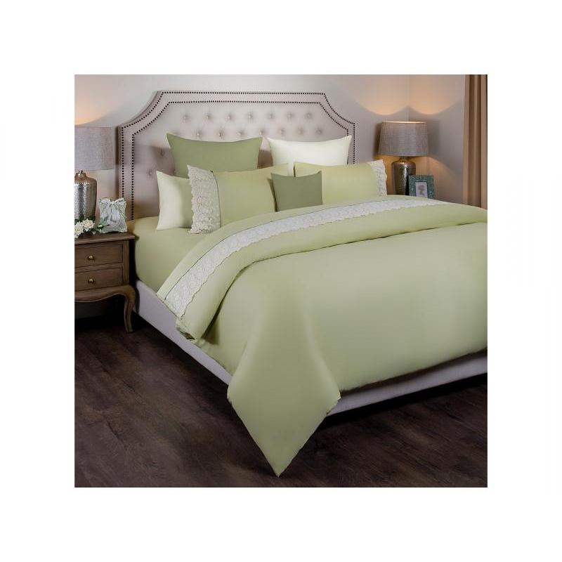 Bedding Set double SANTALINO, IDYLL, light green
