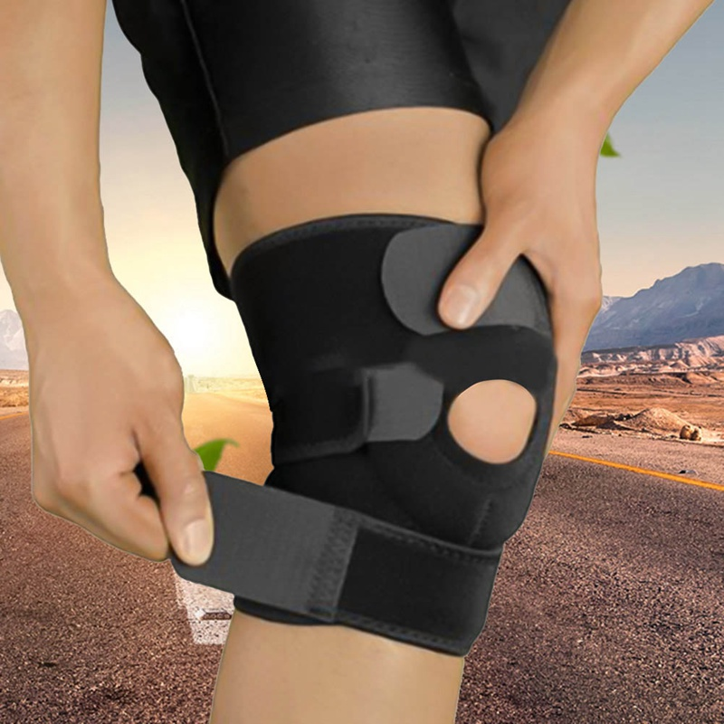 1PCS Fitness Running Cycling Knee Support Braces Sport Compression Elbow Knee Pad Sleeve for Basketball Volleyball Protection