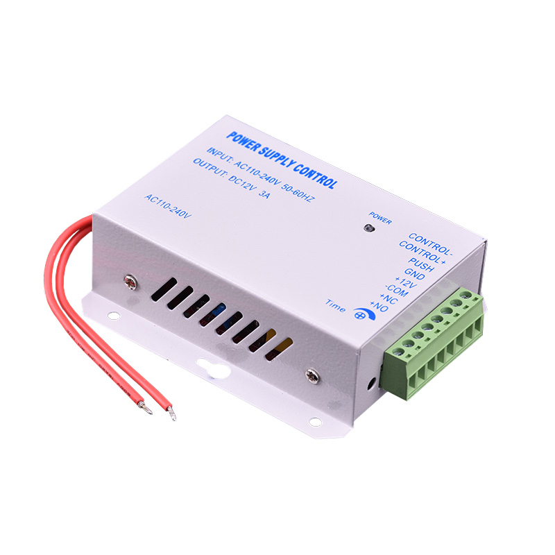 Eseye DC 12V 3A New Door Access Control System Switch Power Supply AC 110~240V Delay Time 15s High Quality Power Supply Control