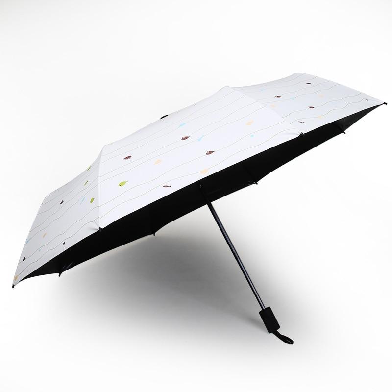 Wholesale Parasol Sun-resistant UV-Protection Parasol Vinyl Rain Or Shine Dual Purpose Gift Umbrella Advertisement Customizable