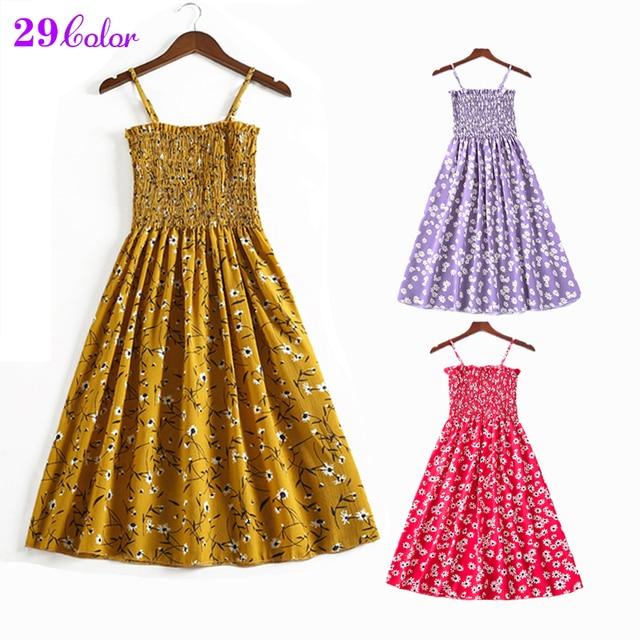 Summer Flower Chiffon Dress 1