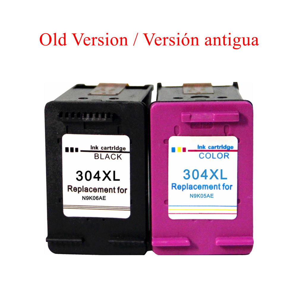 Compatible 304XL Ink Cartridges For HP 304 For HP DeskJet 3720 3730 3733 3735 3750 3760 3762 3764 Printers