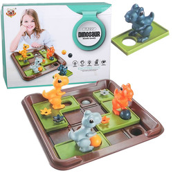 Dinosaur Chess Board Moving Toy Interactive Competition Logic Reasoning Training Fun Board Game Toy for Dropshipping