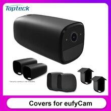 Coperture protettive in Silicone 2 pezzi per Eufy 2C eufyCam Eufy 2 custodia protettiva per fotocamera antigraffio Eufy E