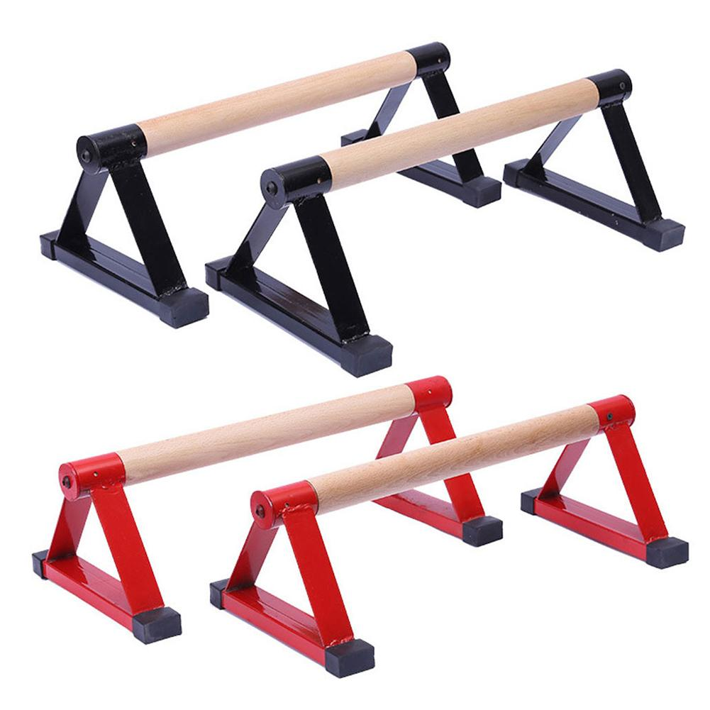Wood Parallettes Set Stretch Stand Calisthenics Handstand Fitness Equipment For Men Women High Quality Quick Delivery New