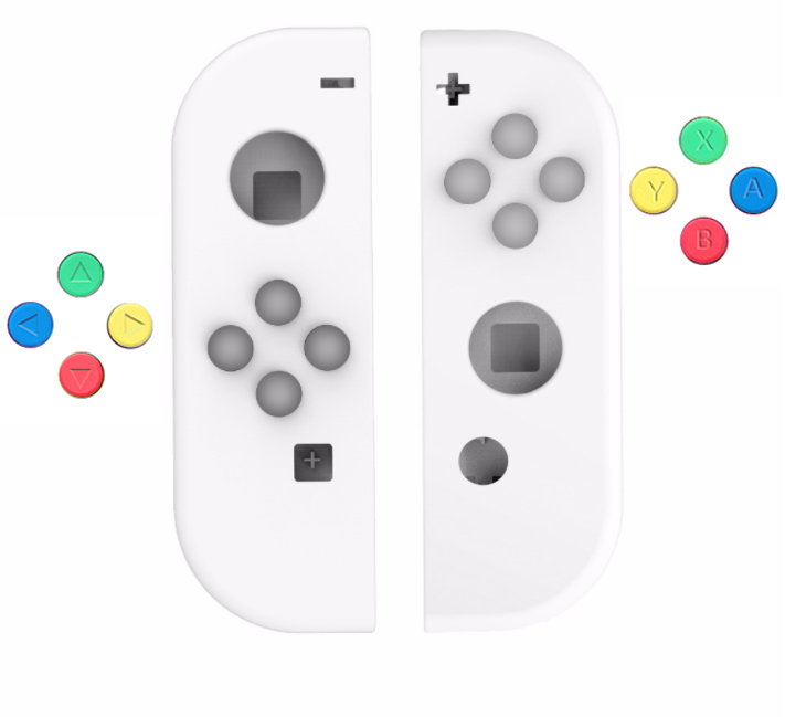 Myriann Replacement Colorfull Buttons For Nintend Switch NS (only Buttons)