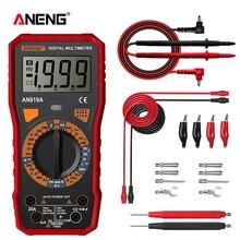 Aneng AN819Aデジタルマルチメータesrmeter真の実効値デジタルマルチメータテスター電圧計バッテリーテスターmultimetro richmet