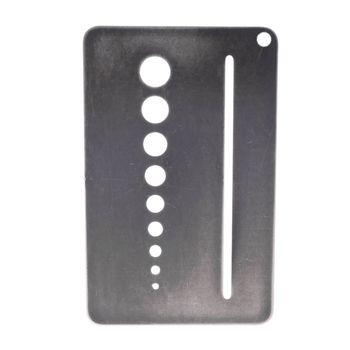 0 1-10mm miernik średnicy śruby miernik średnicy wiertła Bolt Wire Gauge B85C tanie i dobre opinie Shanwen CN (pochodzenie) Woodworking NONE B85C9FF100553