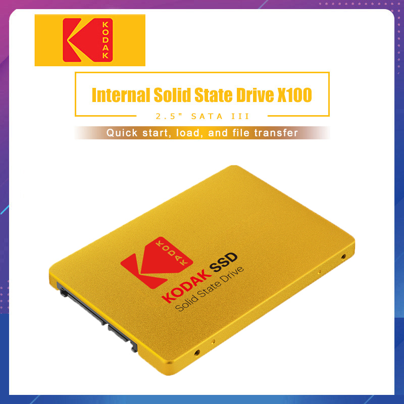 Kodak SSD X100 120GB 240GB Internal Solid State Disk HDD Hard Drive SATA3 2.5 inch Laptop Desktop PC TLC disco duro 480 GB title=