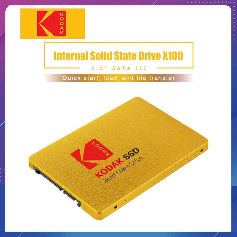 Kodak SSD X100 120GB 240GB Internal Solid State Disk HDD Hard Drive SATA3 2.5 Inch Laptop Desktop PC TLC Disco Duro 480 GB