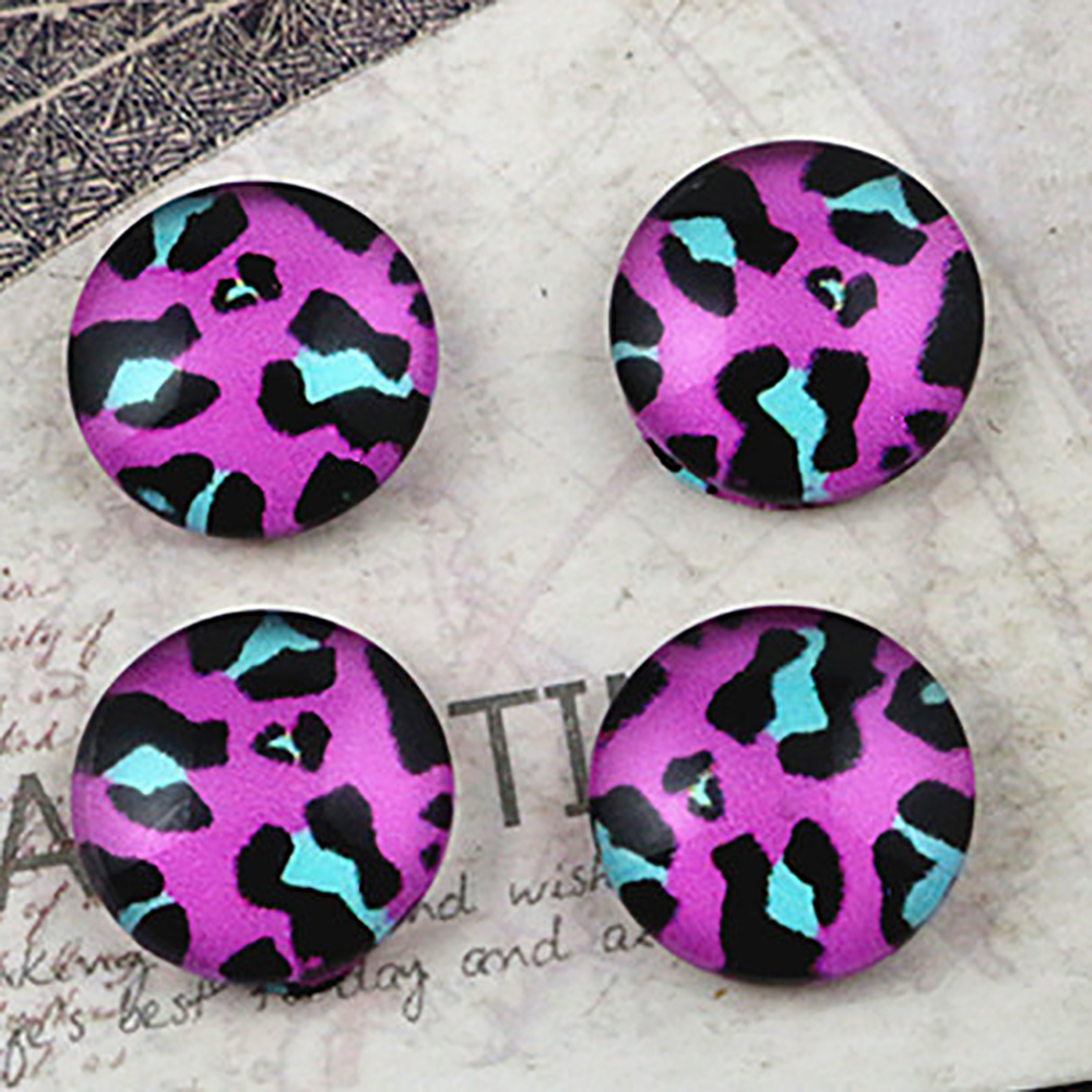 New Fashion  20pcs 12mm Handmade Photo Glass Cabochons  E4-49