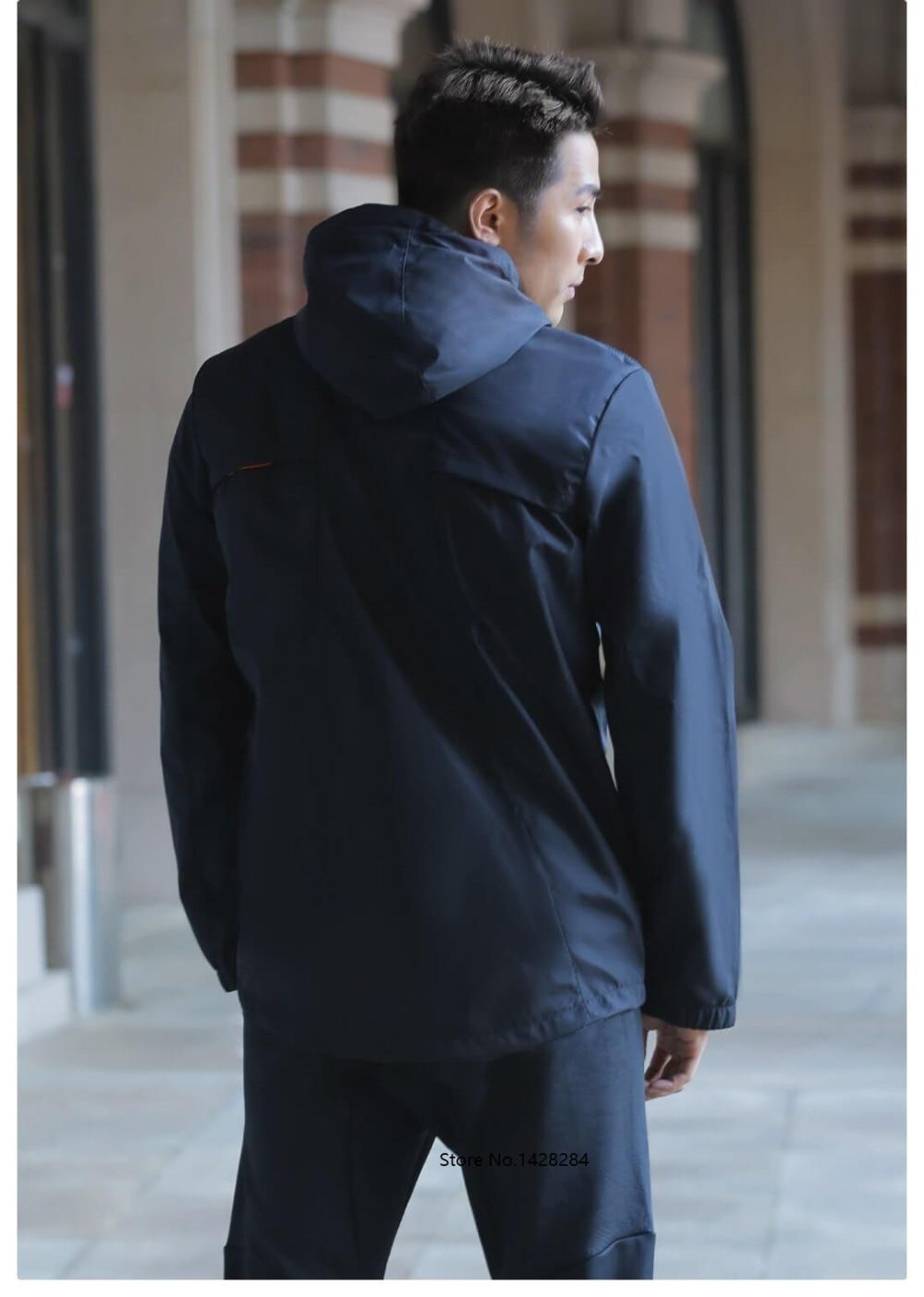 Prova de Vento jaqueta de capuz Esportes