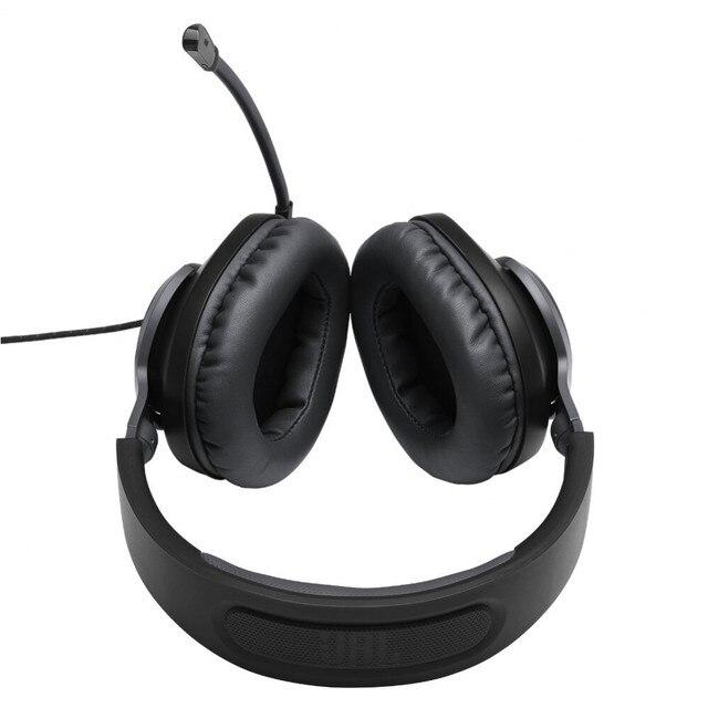 Earphones & Headphones JBL JBLQUANTUM100 Consumer Electronics Portable Audio Video headset Earphone Headphone with microphone QUANTUM 100 for Video Game 96dB Wired Dynamic 5