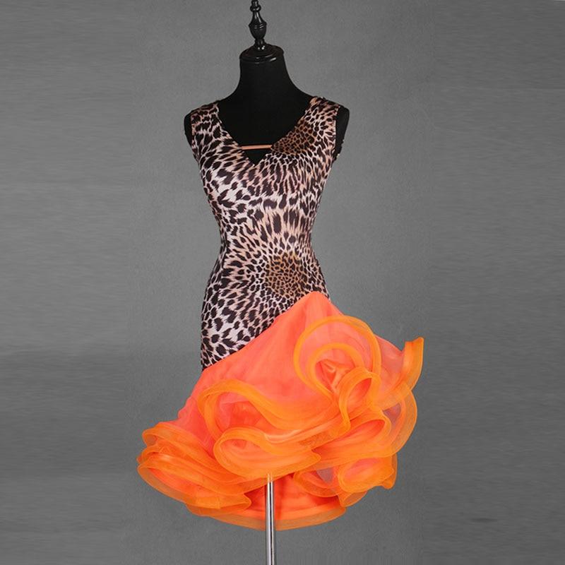Image 3 - Sexy New Latin Dance Dresses Women Performance Salsa Rumba cha cha Tango Dress CostumesLatin