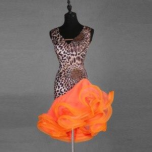 Image 3 - Sexy New Latin Dance Dresses Women Performance Salsa Rumba cha cha Tango Dress Costumes