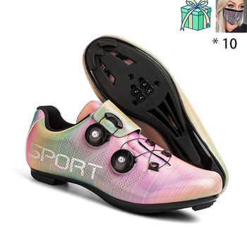 New Style Speed Shoes Men MTB Outdoor Sports Bicycle Shoes Self-locking Road Bike Shoes Professional Racing Bicycle Sneaker 15