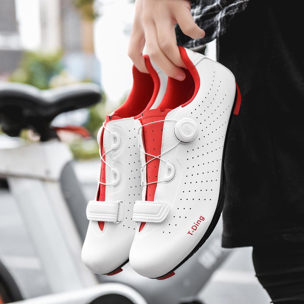 SANMAO SH-IC500 Cycling Shoe Road Bike Cycling Spin Shoe Dual Cleat Compatibility