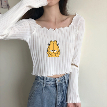 Sweater sexy female autumn new off-the-shoulder cultivate