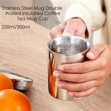 220/300ml Thermos Coffee Bottle Stainless Steel Insulated Double Wall Travel Mug with One-handed Operation Flip Lid Drinkware#6 keith 4pcs set double wall titanium water mug cup sets drinkware insulated camping cups ti3501 220ml 300ml 450ml 600ml