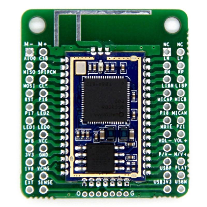 QCC3008 Bluetooth V5.0 Low Power Bluetooth Audio Module APTX LL Lossless Compression TWS I2S