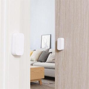 Image 5 - Aqara czujnik okna drzwi Zigbee połączenie bezprzewodowe inteligentny czujnik drzwi Mini praca Android IOS App kontrola dla xiaomi mijia MI strona główna
