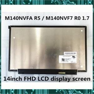 Ноутбук с диагональю 14 дюймов IPS ЖК-дисплей экран дисплея M140NVFA R5 P/N L42693-ND2 M140NVF7 R0 1,7 FHD 1920X1080 тестирование