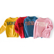Kids Sweater  Soft Baby Autumn Children Casual Clothing Long-Sleeve Print Letter Boys Girls Toddler Tops for 2 3 4 5 6 7 8 Years baby boy clothes 3 pcs sets for children high qulity 2018 long sleeve print toddler boys baby suit for kid 2 7 years cls106