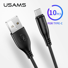 USAMS Type C Cable,10pcs bulk 1m 0.25m Mobile Phone