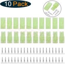 10 Pairs/Lot Mini Tamiya Style Connector Plugs Male & Female