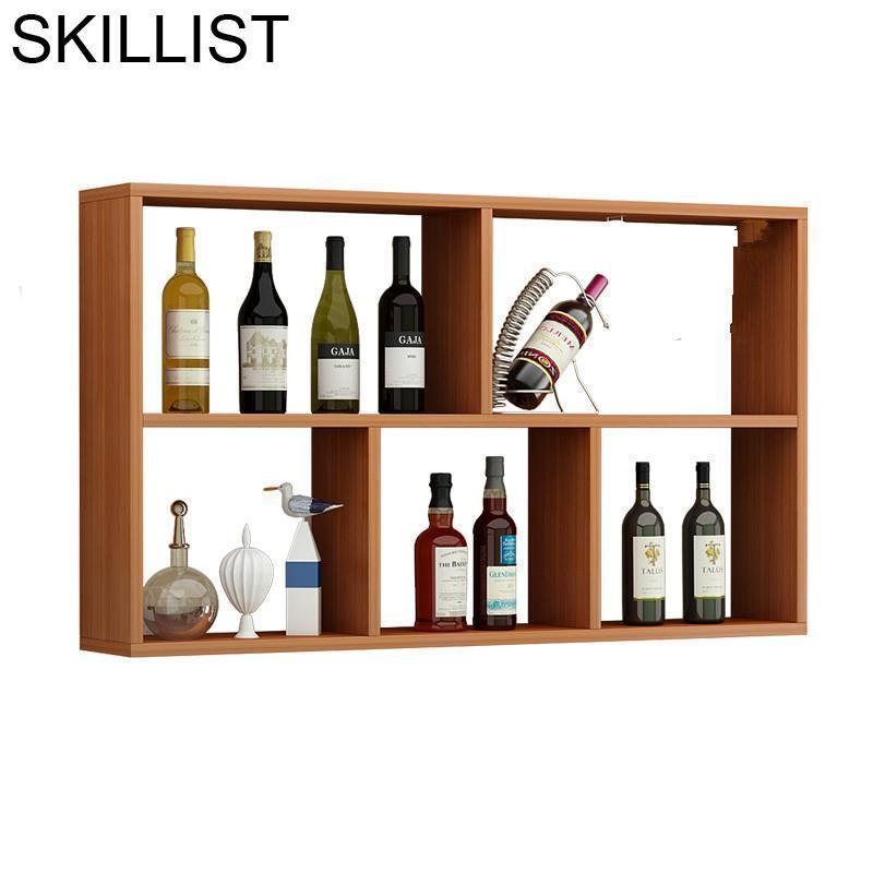 Cocina Salon Adega Vinho Storage Cristaleira Table Desk Mobilya Hotel Kast Rack Mueble Commercial Bar Furniture Wine Cabinet