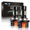 Автомобильные светодиодсветодиодный лампы AILEO H15, 6 Вт, 3030 лм, 12 В, 21-SMD 6500