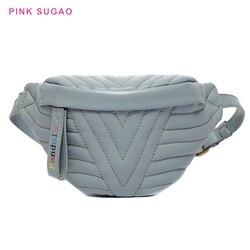 Pink Sugao fanny pack women chest bag leatehr fanny pack for women waist bag crossbody bag shoulder bag money bag belt pack 2019