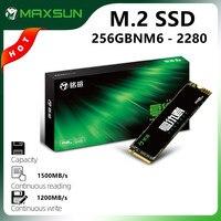 MAXSUN pełny nowy pulpit M.2 2280 SSD 256GB 3D NAND Flash wewnętrzne dyski półprzewodnikowe PCIe3.0 x4 M.2 laptop pamięć wewnętrzna