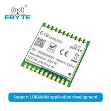E19-433M20S2 5km de longo alcance 433mhz módulo sem fio do transceptor rf ebyte sx1278 chip lora lorawan placa desenvolvimento spi módulo