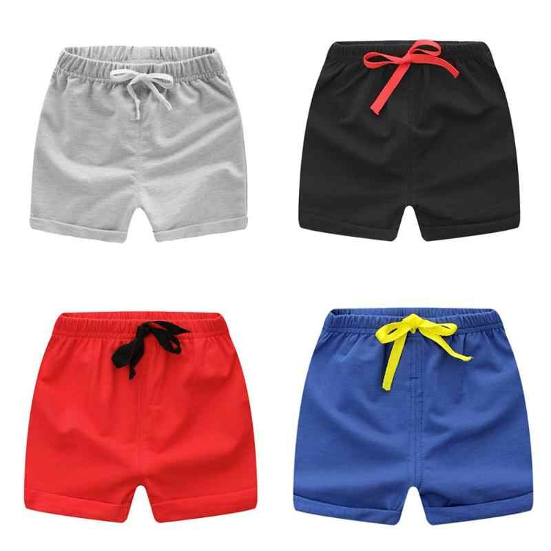 THECAT Casual Shorts for Boys Cotton Loose Beach Children Trousers Baby Boy Shorts