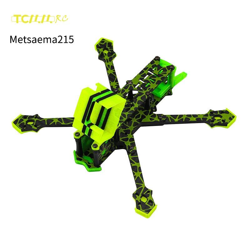 Tcmmrc 5 frame metsaema215 frame drone camuflagem novo produto fpv zangão quadro rc quadcopter kit