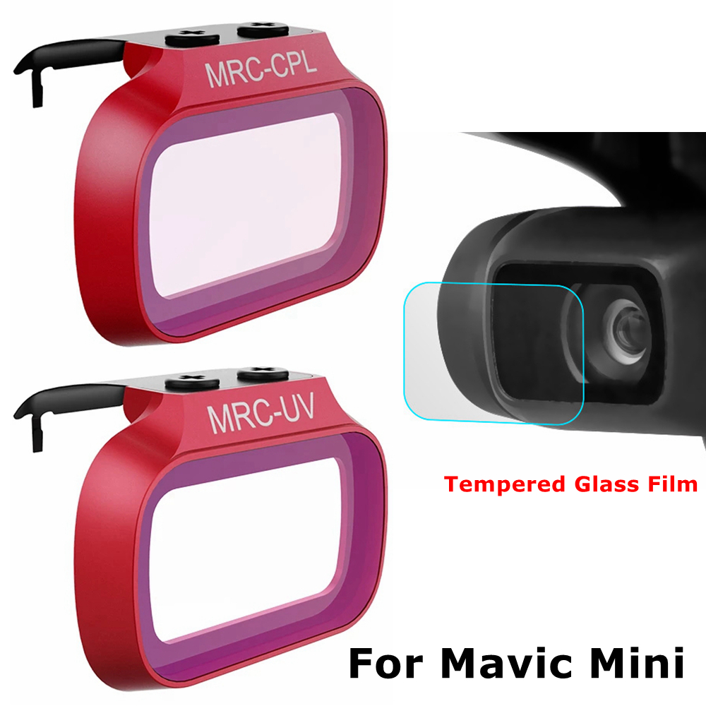 DJI Mavic Mini UV CPL Filter Professional + Camera Lens Tempered Glass Film HD Protective Film Lens Protector Drone Accessories