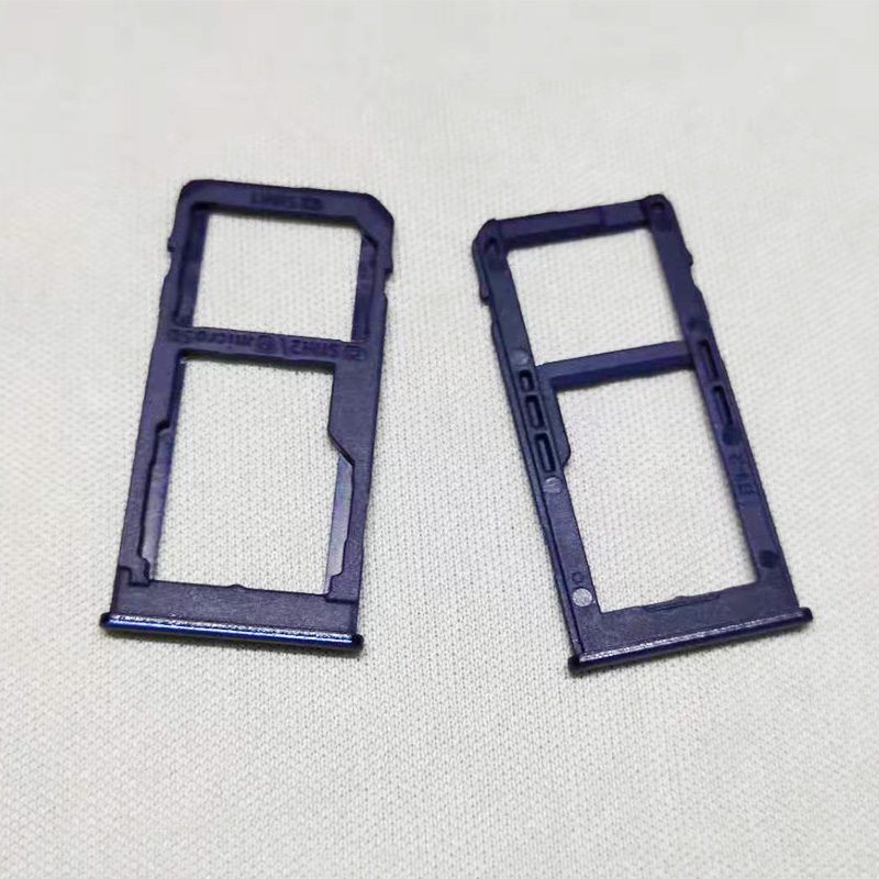 Phone SIM Card Tray Slot For <font><b>samsung</b></font> <font><b>galaxy</b></font> <font><b>A60</b></font> <font><b>SM</b></font>-A606F <font><b>A6060</b></font> Cellphone Micro SD Card Adapter Holder Accessories image